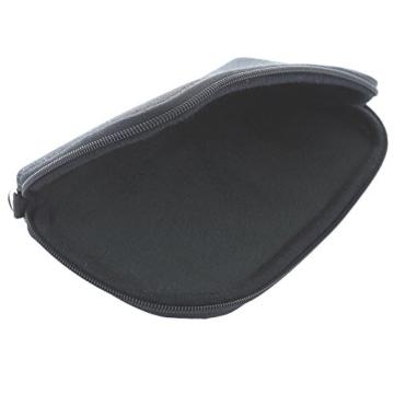 Handyhülle mit Handschlaufe 7.2 - universal Größe 2XL für Huawei P9 P10 P20 Lite Honor 9 10 / Motorola Moto G5 - Handytasche schwarz/grau - 2