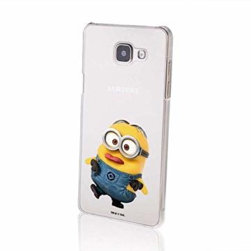 Hülle für Samsung Galaxy A5 2016 - Minions Handyhülle mit Motiv und Optimalen Schutz Tasche Case Hardcase Cover Schutzhülle - Kleiner Spott - 2