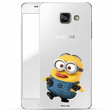 Hülle für Samsung Galaxy A5 2016 - Minions Handyhülle mit Motiv und Optimalen Schutz Tasche Case Hardcase Cover Schutzhülle - Kleiner Spott - 1