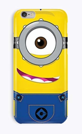 iPhone 7 3D Phone Smartphone Case Handy Hülle Minions Kevin Stuart Bob 16 Designs - 1