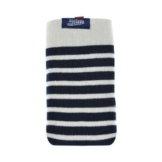 Jean Paul Gaultier Handysocke Sailor Blau/Weiß für max. Phone: 136,6 × 69,8 × 7,9 mm - 1