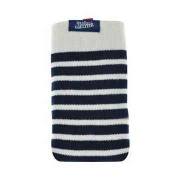 Jean Paul Gaultier Handysocke Sailor Blau/Weiß für max. Phone: 136,6 × 69,8 × 7,9 mm - 1