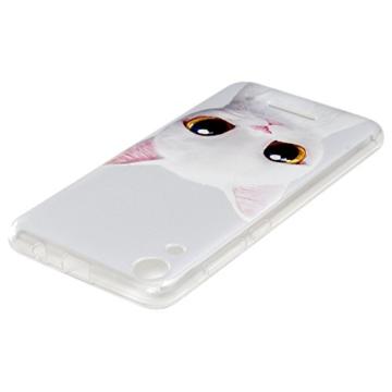 MAXFE.CO Handyhülle für WIKO Lenny 4 Hülle TPU Silikon Tasche Kätzchen Muster Weich Backcover Handytasche Dünn Etui Case - 5