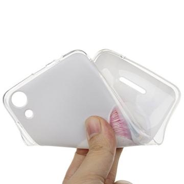 MAXFE.CO Handyhülle für WIKO Lenny 4 Hülle TPU Silikon Tasche Kätzchen Muster Weich Backcover Handytasche Dünn Etui Case - 7