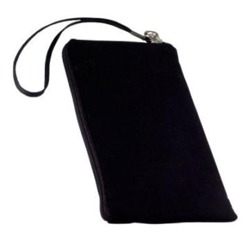 Smart Planet® Hochwertiges SoftCase XL Hülle Neopren Smartphone Universal Tasche für z.B. iPhone 8 Galaxy S7 S8 / Edge A5 A7, Note Huawei P10 / lite Wiko usw. schwarz - 2