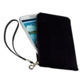 Smart Planet® Hochwertiges SoftCase XL Hülle Neopren Smartphone Universal Tasche für z.B. iPhone 8 Galaxy S7 S8 / Edge A5 A7, Note Huawei P10 / lite Wiko usw. schwarz - 1